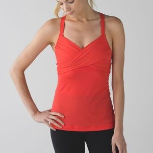 lululemon athletica Tops - New lululemon Wrap it Up Tank